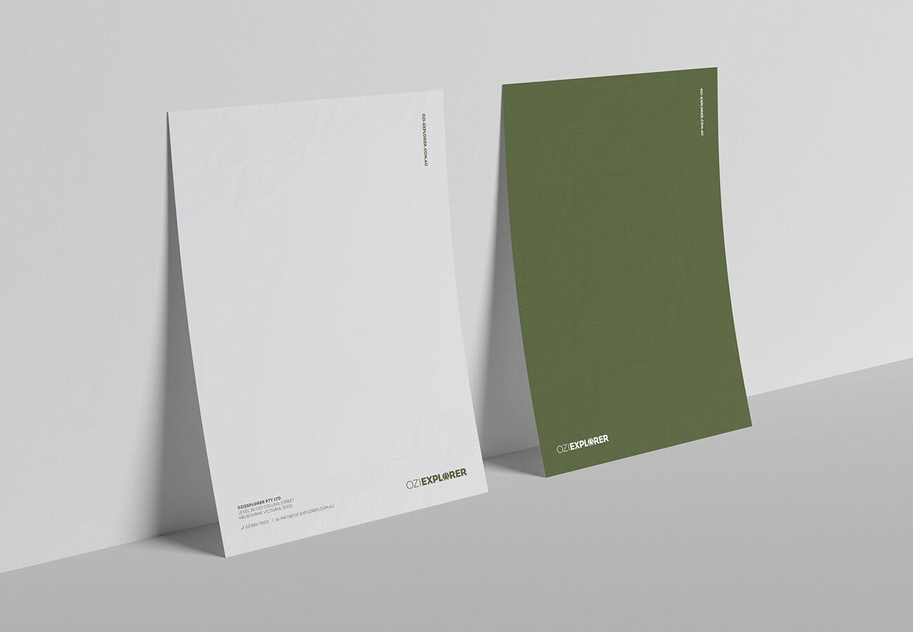 Printed Letterhead Design