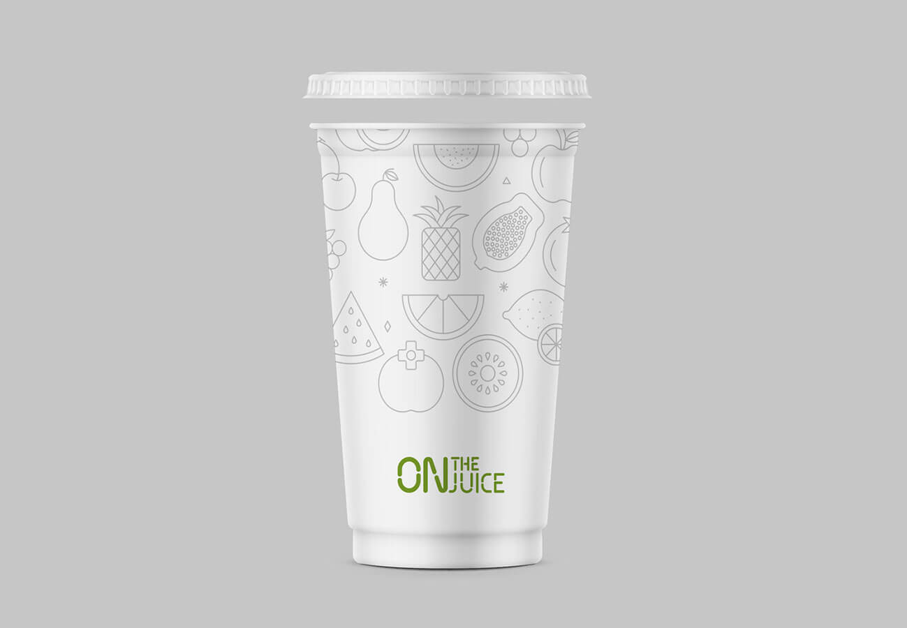 Takeaway Cup Graphic Example