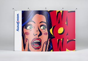 Media Wall Graphic Design